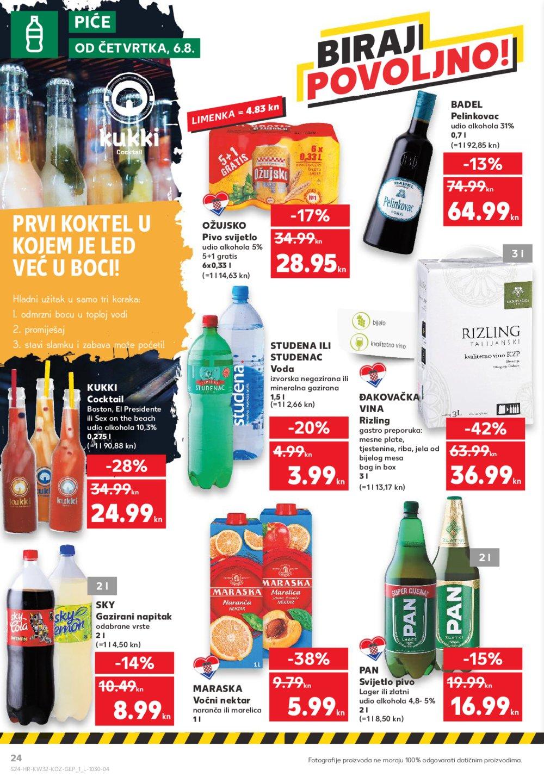 Kaufland katalog Akcija 06.08.-12.08.2020.