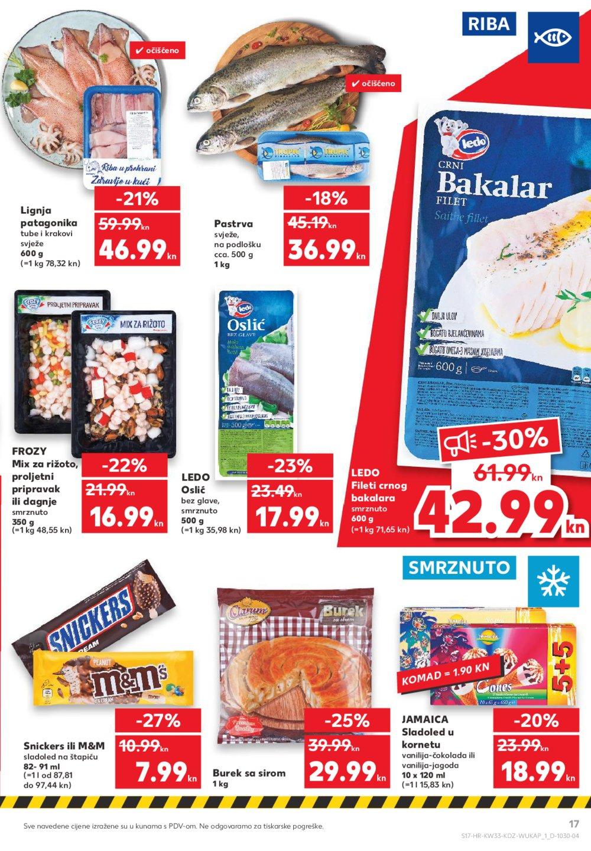 Kaufland katalog akcija 13.08.-19.08.2020.