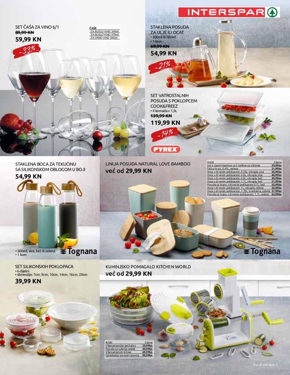 Interspar katalog Kućanstvo 09.09.-06.10.2020.