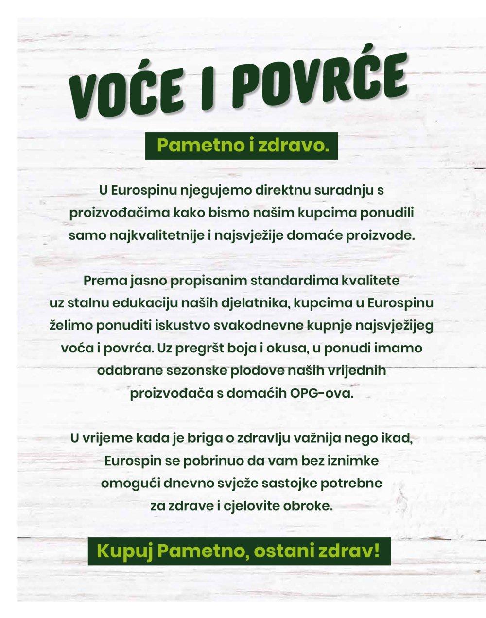 Eurospin Pametna kupnja 10.09.2020.-16.09.2020.