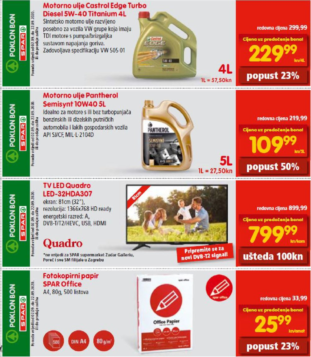 Spar katalog bonovi 02.09.-22.09.2020.