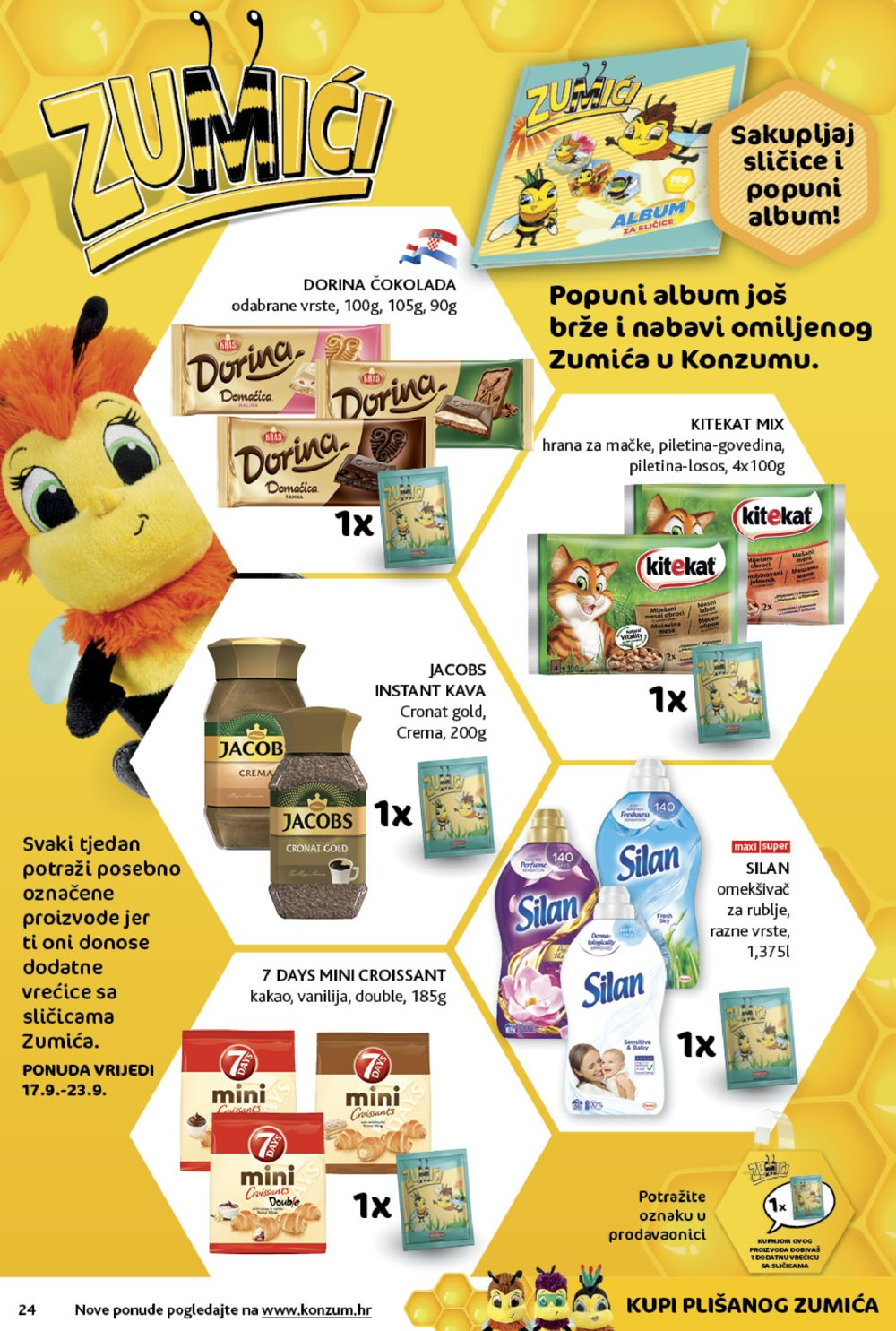 Konzum katalog Top akcija 17.09.-23.09.2020.