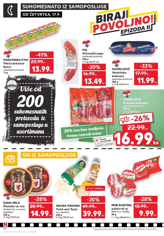 Kaufland katalog Biraj povoljno 17.09.-23.09.2020.