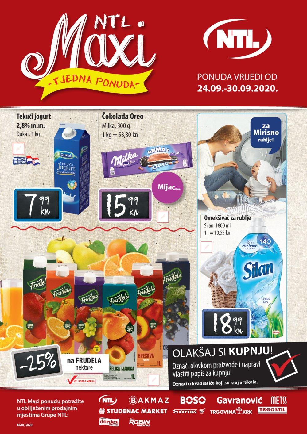 Gavranović katalog NTL Maxi Tjedna ponuda 24.09.-30.09.2020.