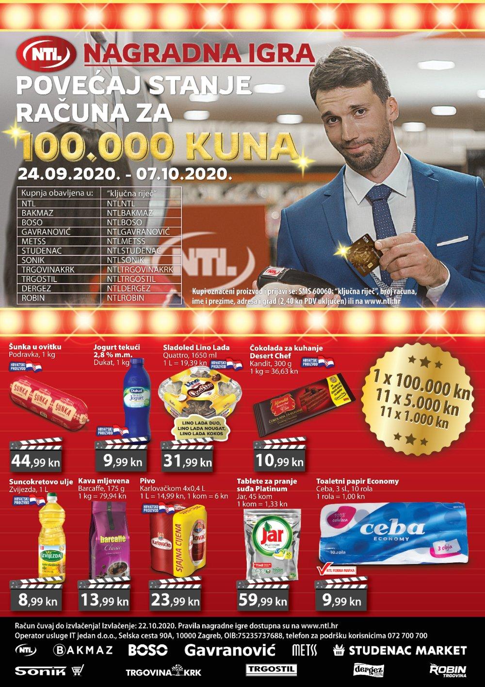 Studenac katalog NTL Maxi Tjedna ponuda 24.09.-30.09.2020.