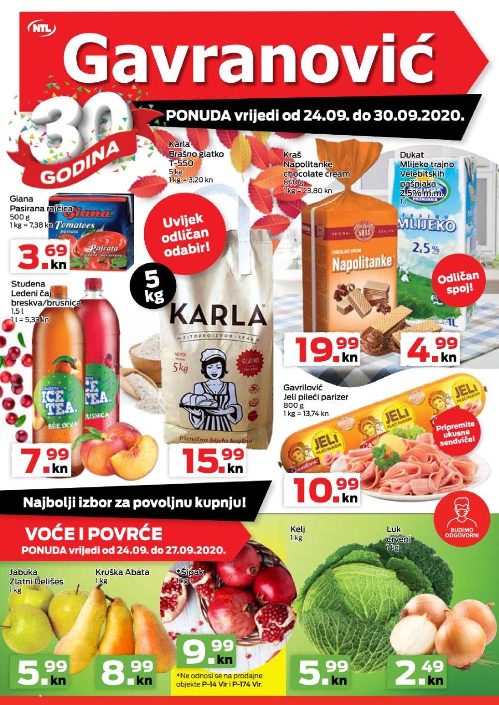 Gavranoić katalog Akcija 24.09.-30.09.2020.