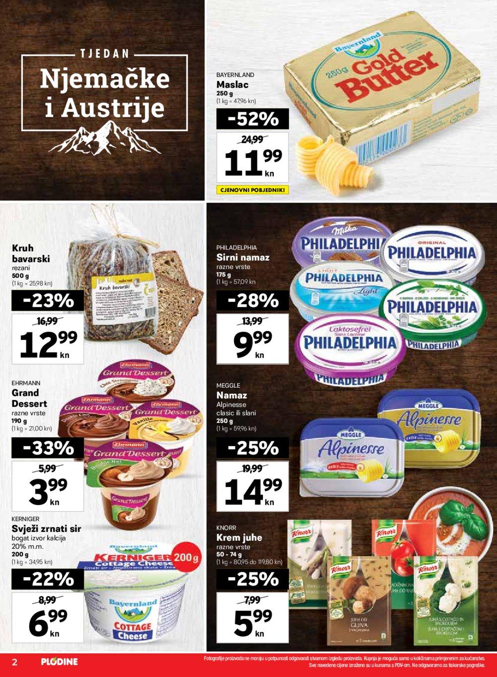 Plodine katalog Tjedan Njemačke i Austrije 24.09.-30.09.2020.