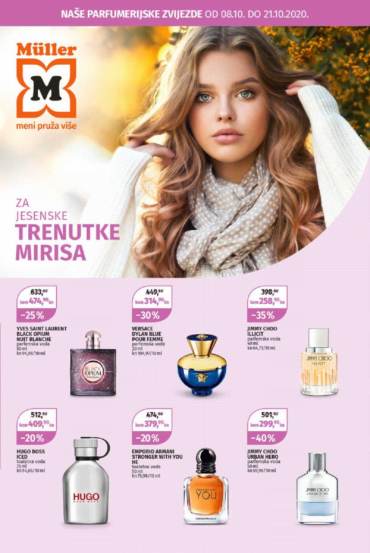 Muller katalog Parfumerija 08.10.-21.10.2020.