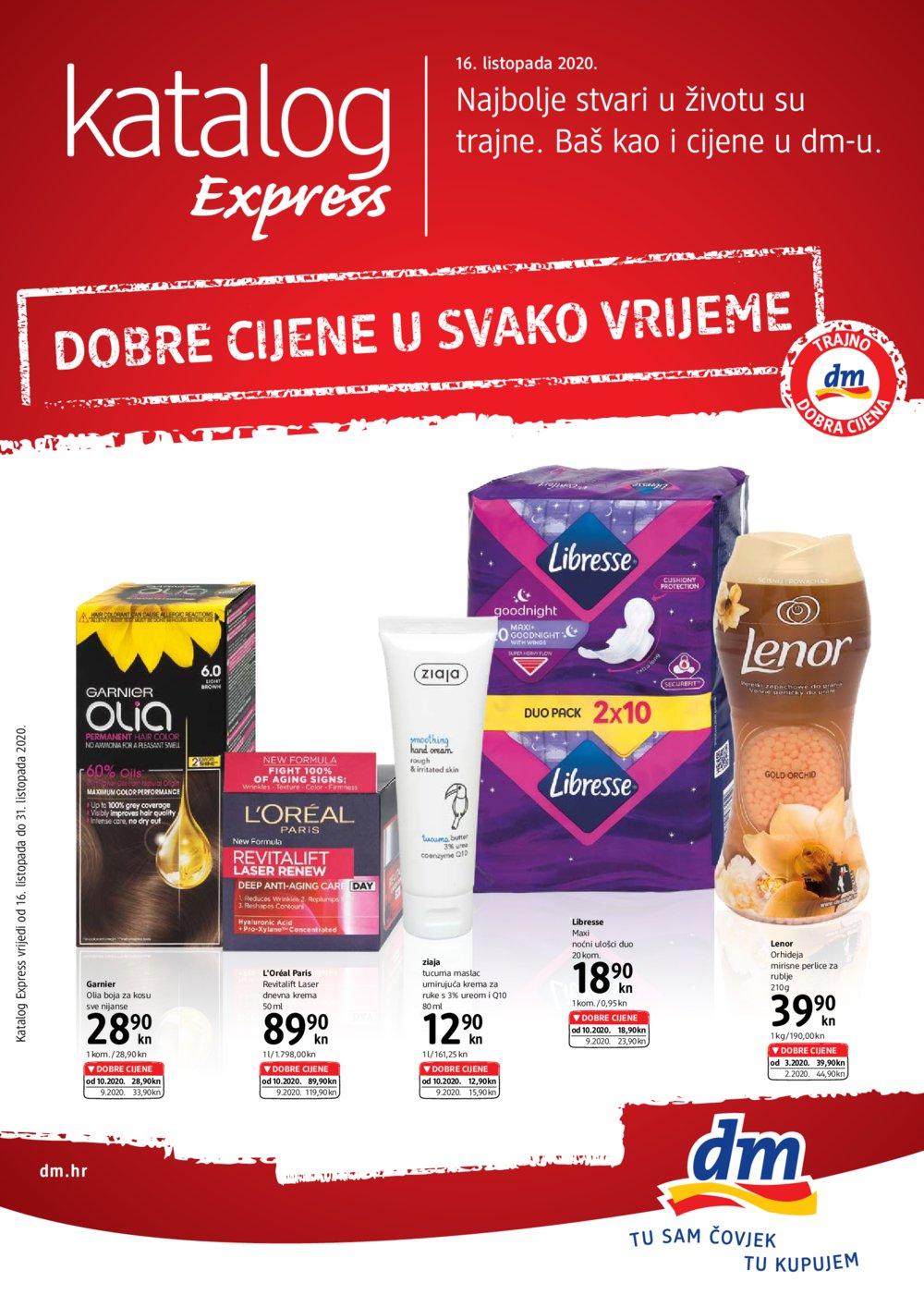 Dm katalog Express 16.10. do 31.10.2020.