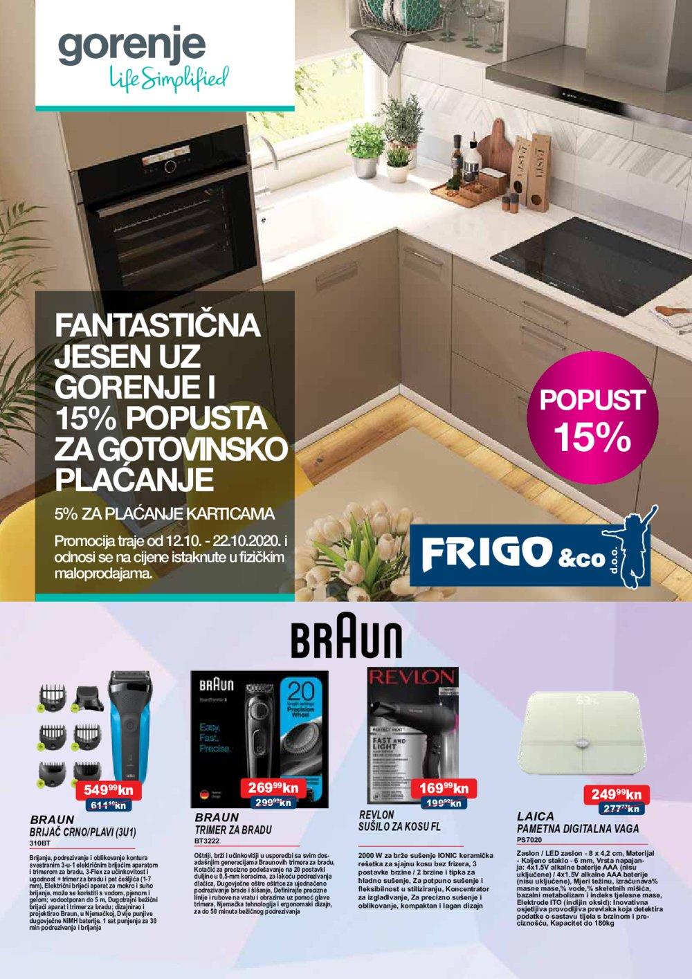 Frigo katalog Akcija 12.10.-07.11.2020.
