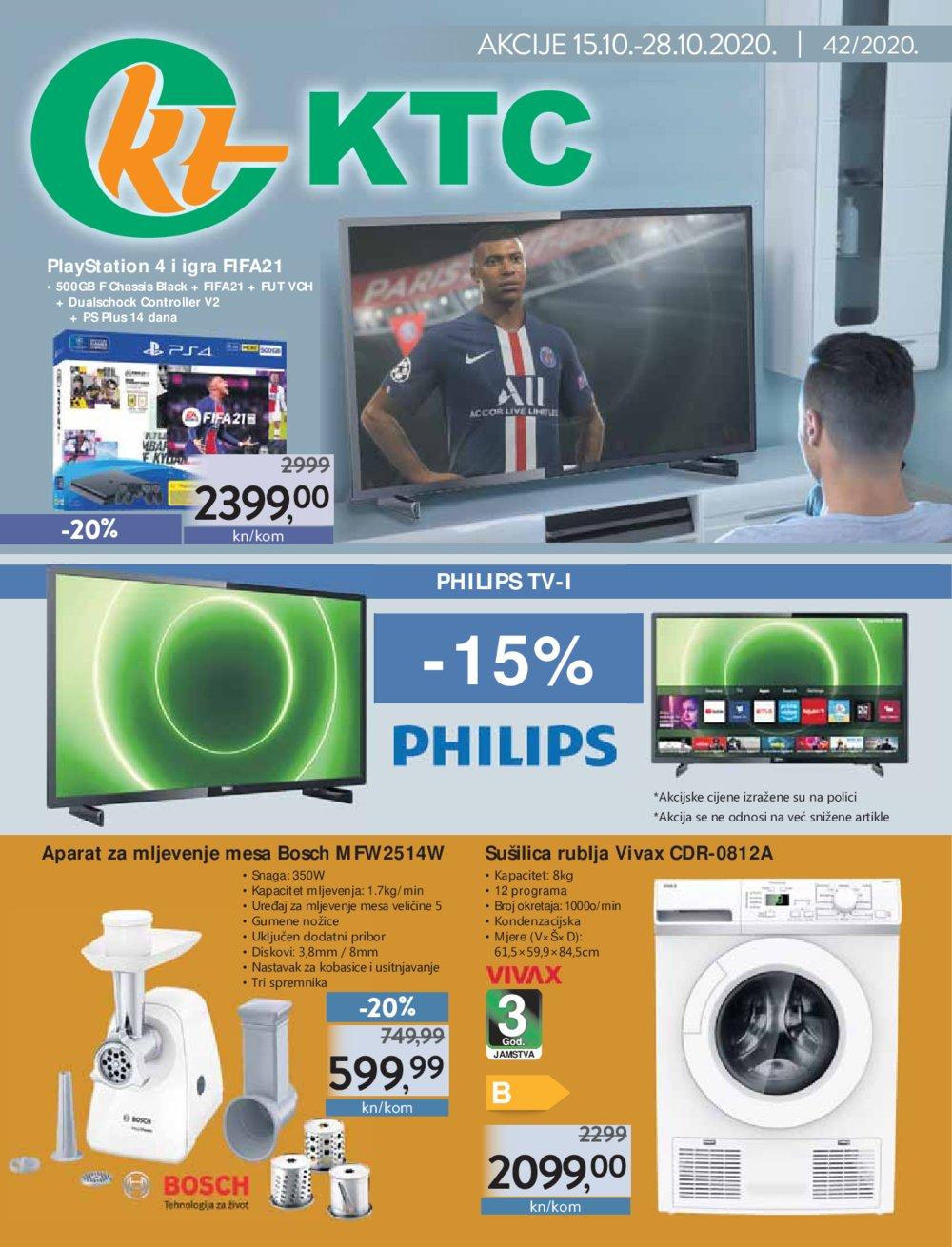 KTC katalog Akcija tehnika 15.10.-28.10.2020.