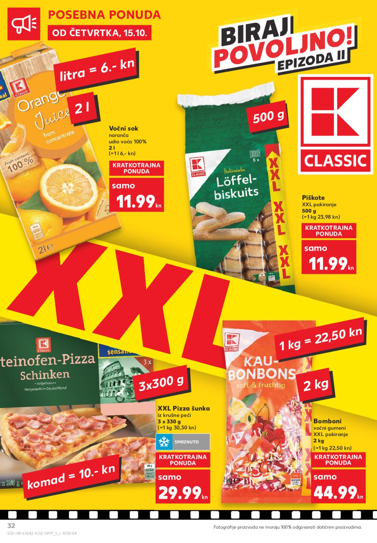 Kaufland katalog Akcija 15.10.-21.10.2020.