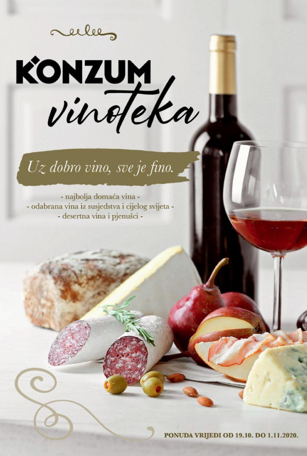 Konzum katalog Akcija Vinoteka 19.10.-01.11.2020.