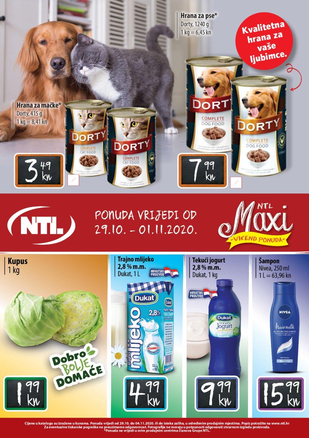 Gavranović katalog NTL Maxi Tjedna ponuda 29.10.-04.11.2020.