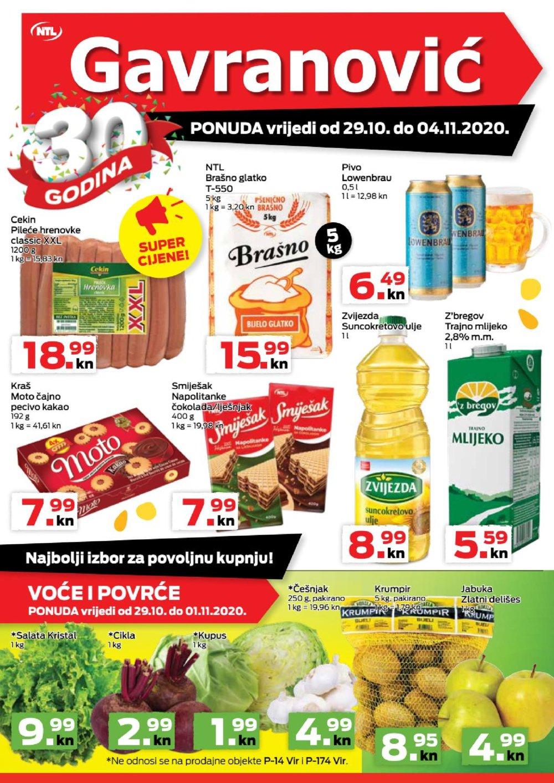 Gavranović katalog Akcija 29.10.-04.11.2020.