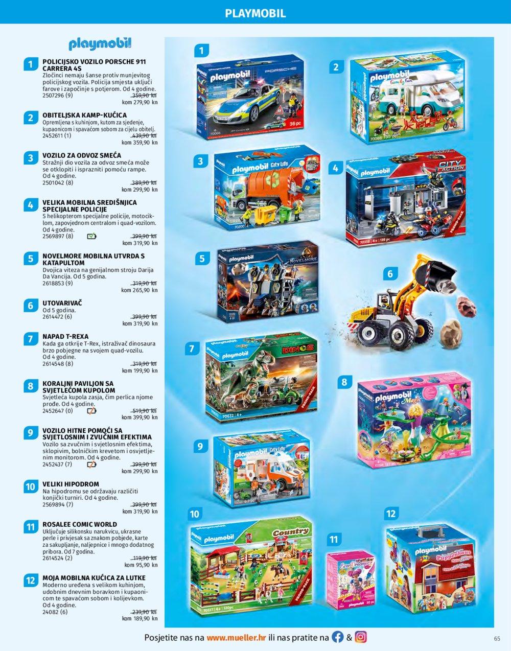 Muller katalog Igračke 02.11.-24.12.2020.