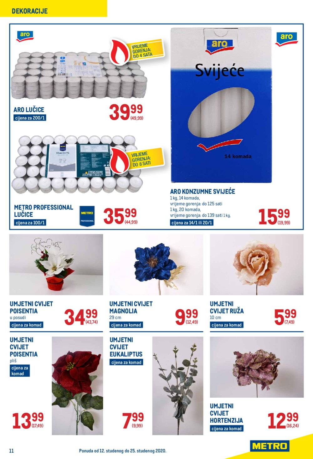 Metro katalog Neprehrana 12.11.-25.11. Jankomir i Sesvete