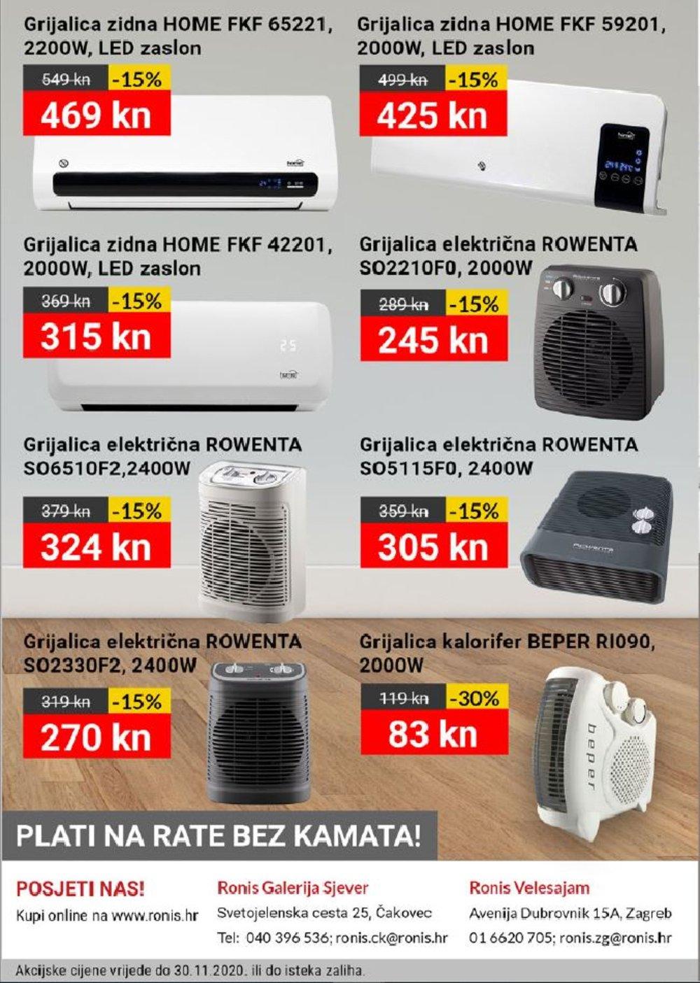 Ronis katalog Studeni 11.11.-30.11.2020.