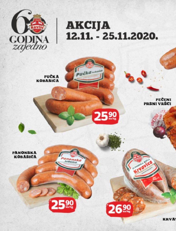 Mesnice Ravlić katalog Akcija 12.11.-09.12.2020.