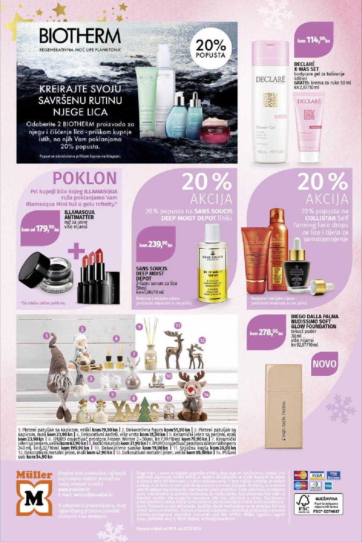 Muller katalog Parfumerija 19.11.-02.12.2020.