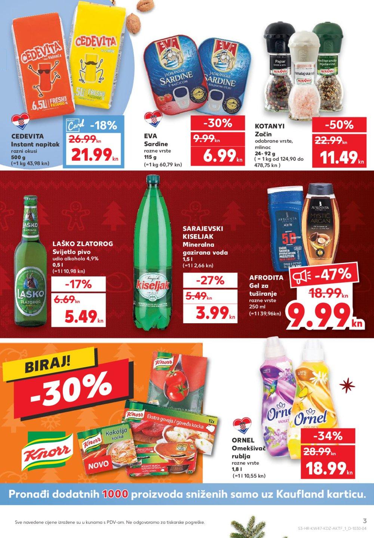 Kaufland katalog Akcija 19.11.-25.11.2020. Zg, Samobor, Sesvete, Zaprešić, VG, DS