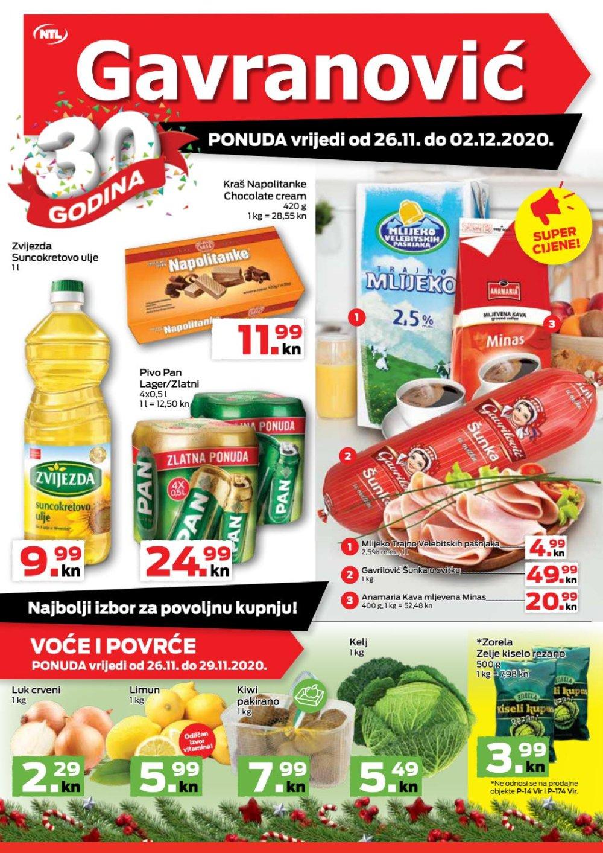 Gavranović katalog Akcija 26.11.-02.12.2020.