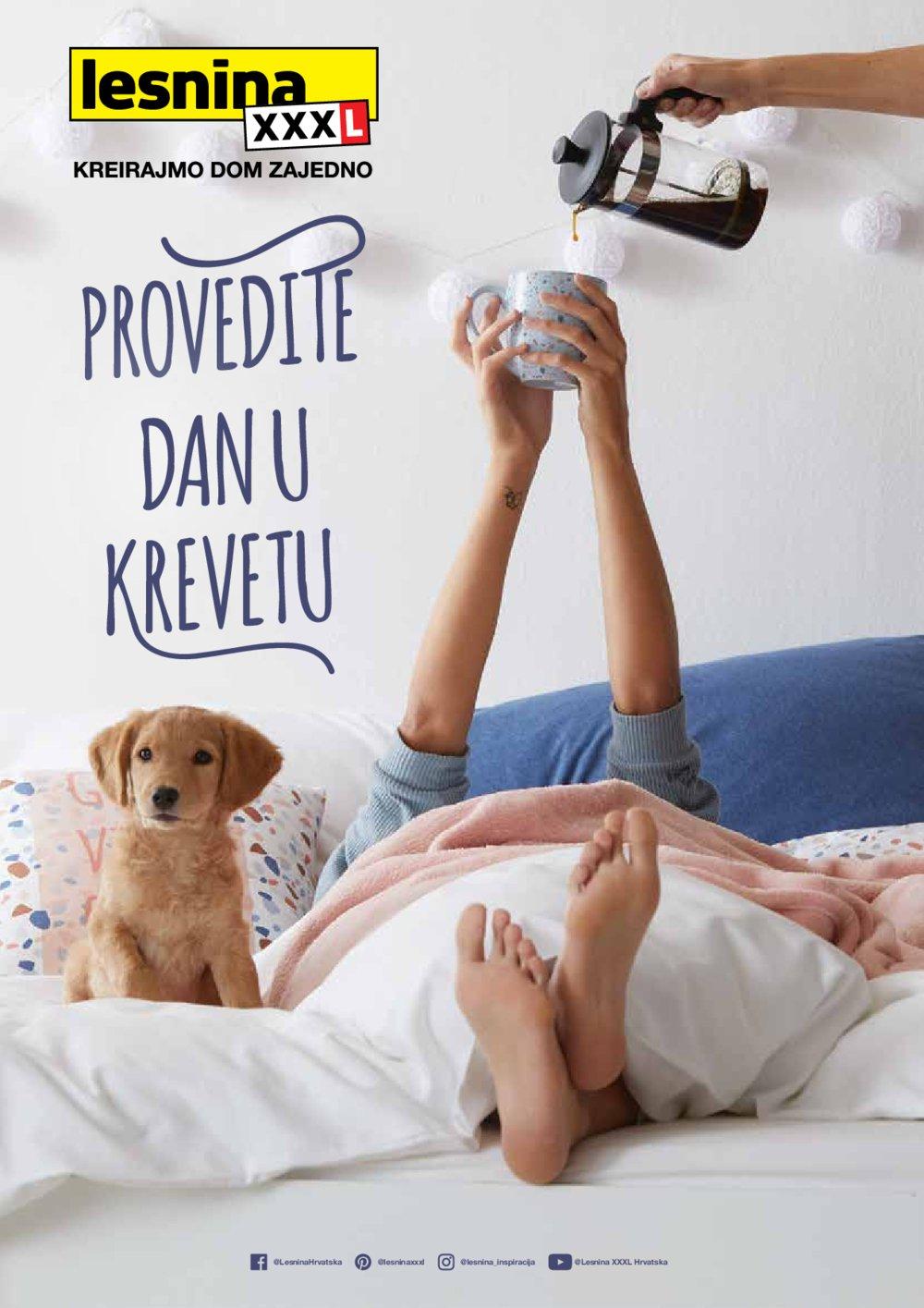 Lesnina katalog Provedite dan u krevetu 04.12.2020.-30.06.2021.