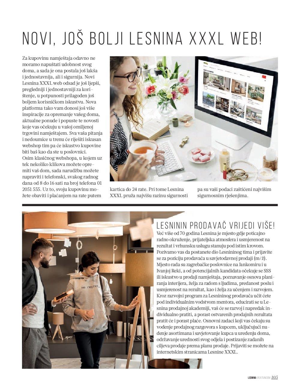 Lesnina katalog Kreativni dom 22.10.-01.04.2021.