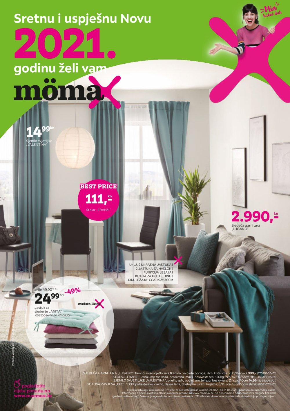 Momax katalog Akcija 01.01.-31.01.2021.