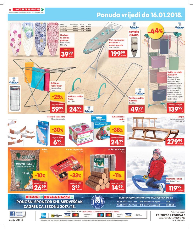 Interspar katalog Akcija od 03.01.2018. do 16.01.2018.