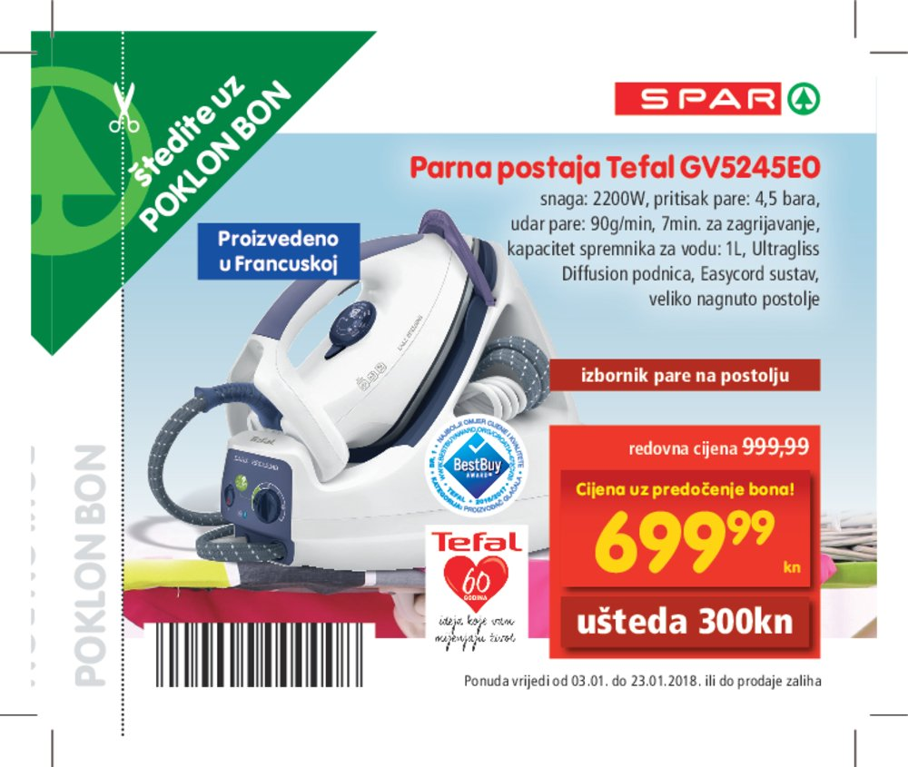Spar katalog bonovi od 03.01.2018. do 23.01.2018.