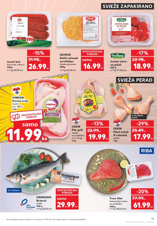 Kaufland katalog Akcija 21.01.-27.01.2021. Odabrane poslovnice