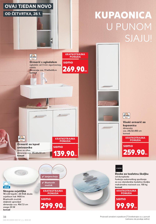 Kaufland katalog Akcija 28.01.- 03.02.2021. VG, DS, Ma, Si, Po, Vu