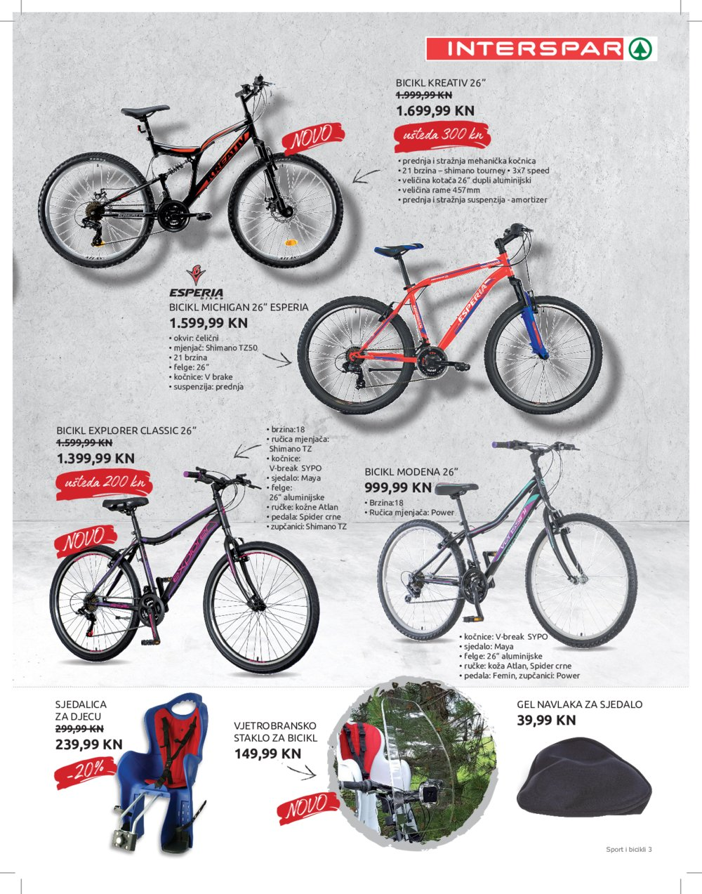 Interspar Katalog Sport 10.03.-13.04.2021.