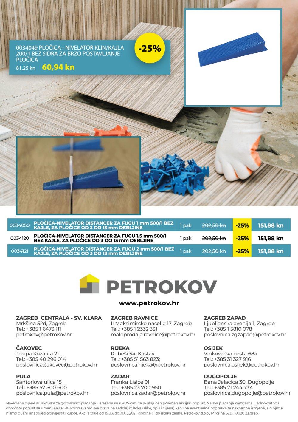 Petrokov Katalog Akcija 01.03.-31.05.2021.