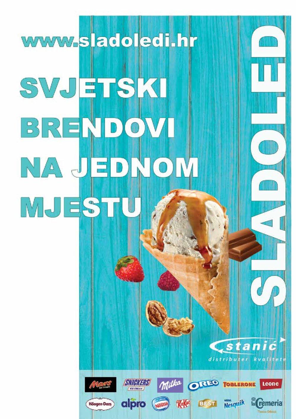 Diskont Stanić katalog Sladoleda 26.03.-15.09.2021.