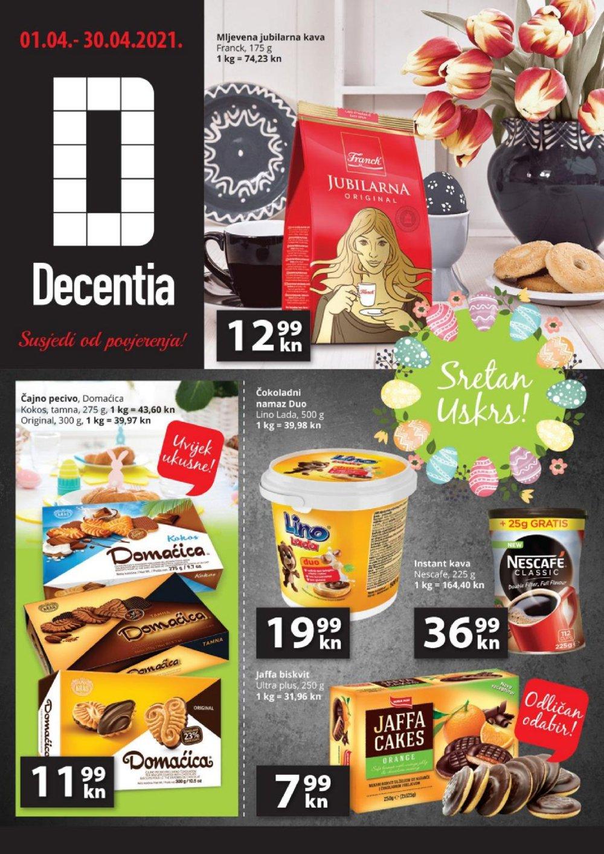 Decentia katalog akcija 01.04.- 30.04.2021.