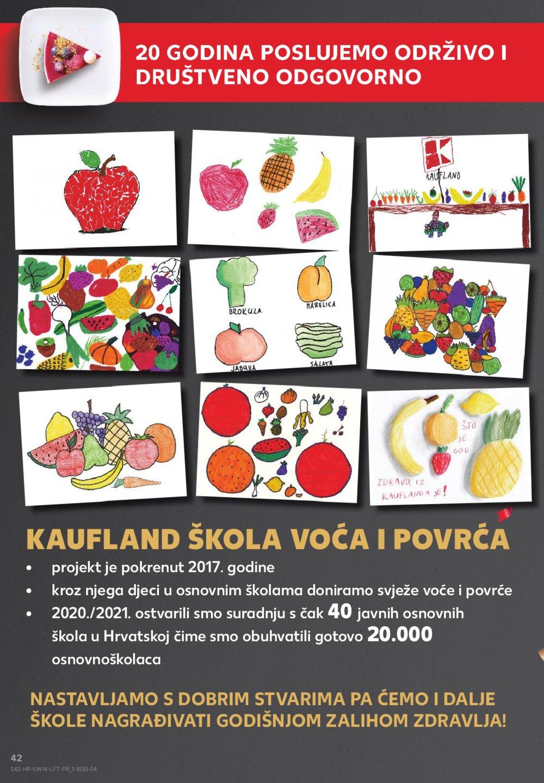 Kaufland katalog Akcija 08.04.-14.04.2021. Odabrane poslovnice