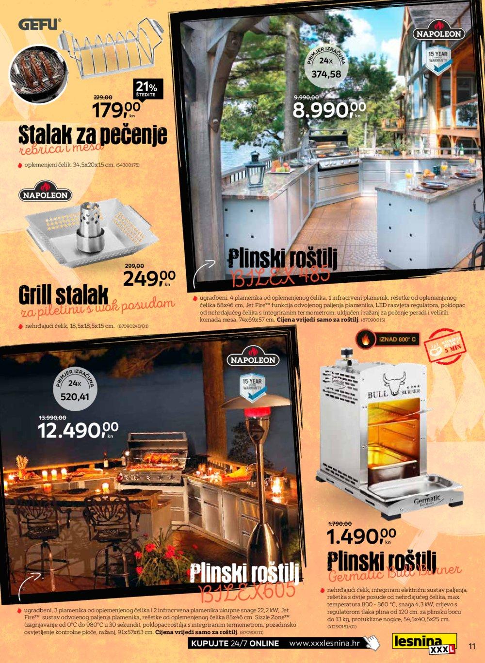 Lesnina katalog Akcija Volimo roštilj 05.04.-31.05.2021.