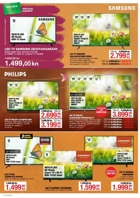 Pevex katalog Akcija Proljeće 08.04.-04.05.2021.