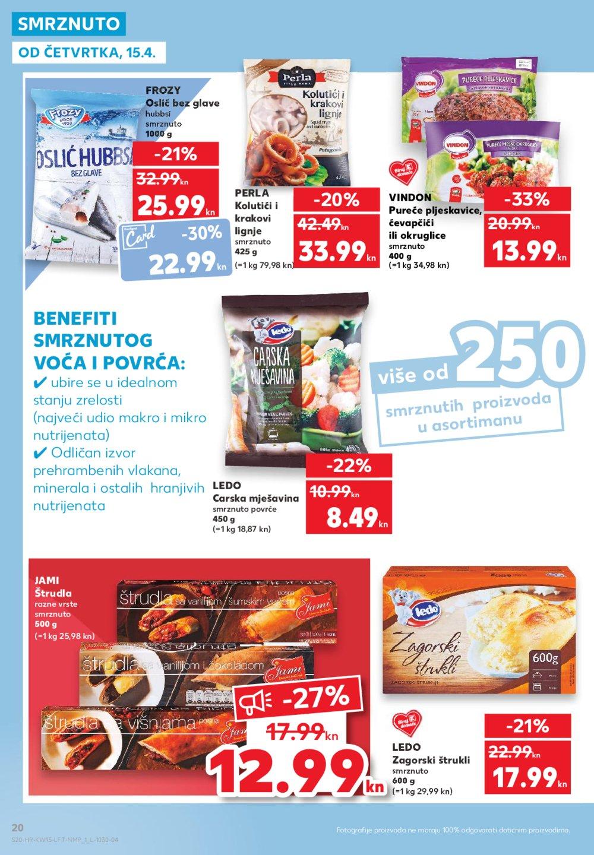 Kaufland katalog Akcija 15.04.-21.04.2021.