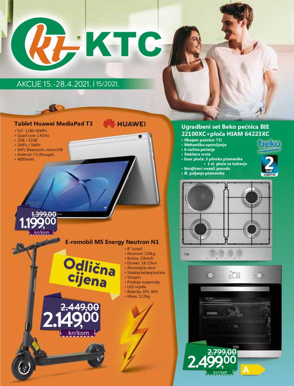 KTC katalog Tehnika 15.04.-28.04.2021.