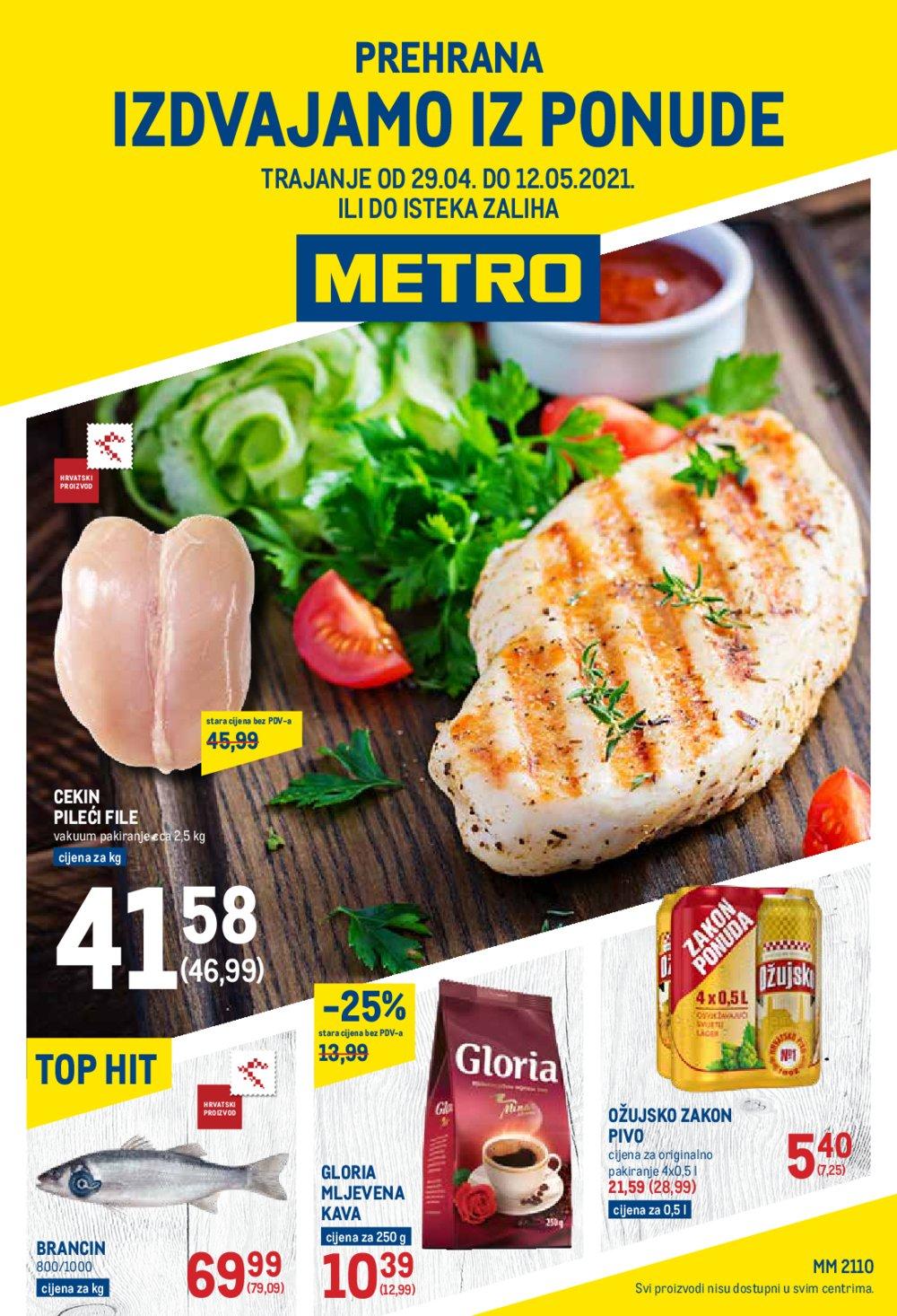 Metro katalog Akcija prehana 29.04.-12.05.2021.