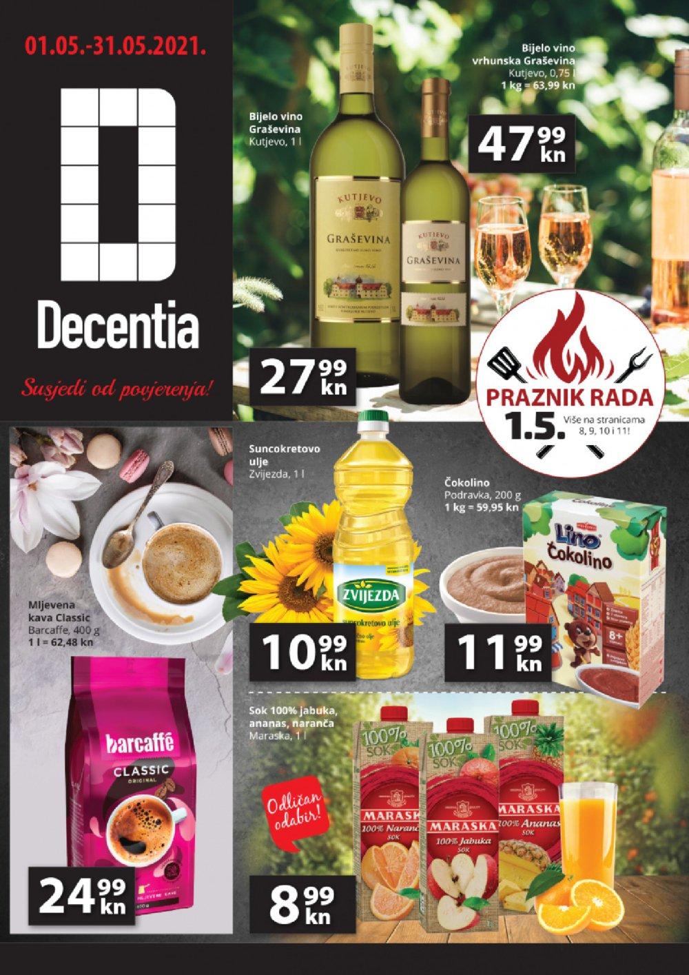 Decentia katalog Akcija 01.05.-31.05.2021.