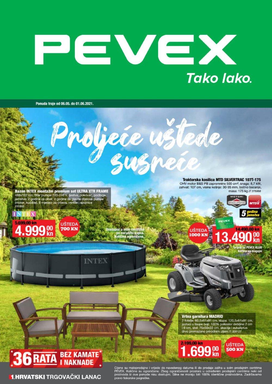 Pevex Katalog Proljetna Akcija 06.05.-01.06.2021.