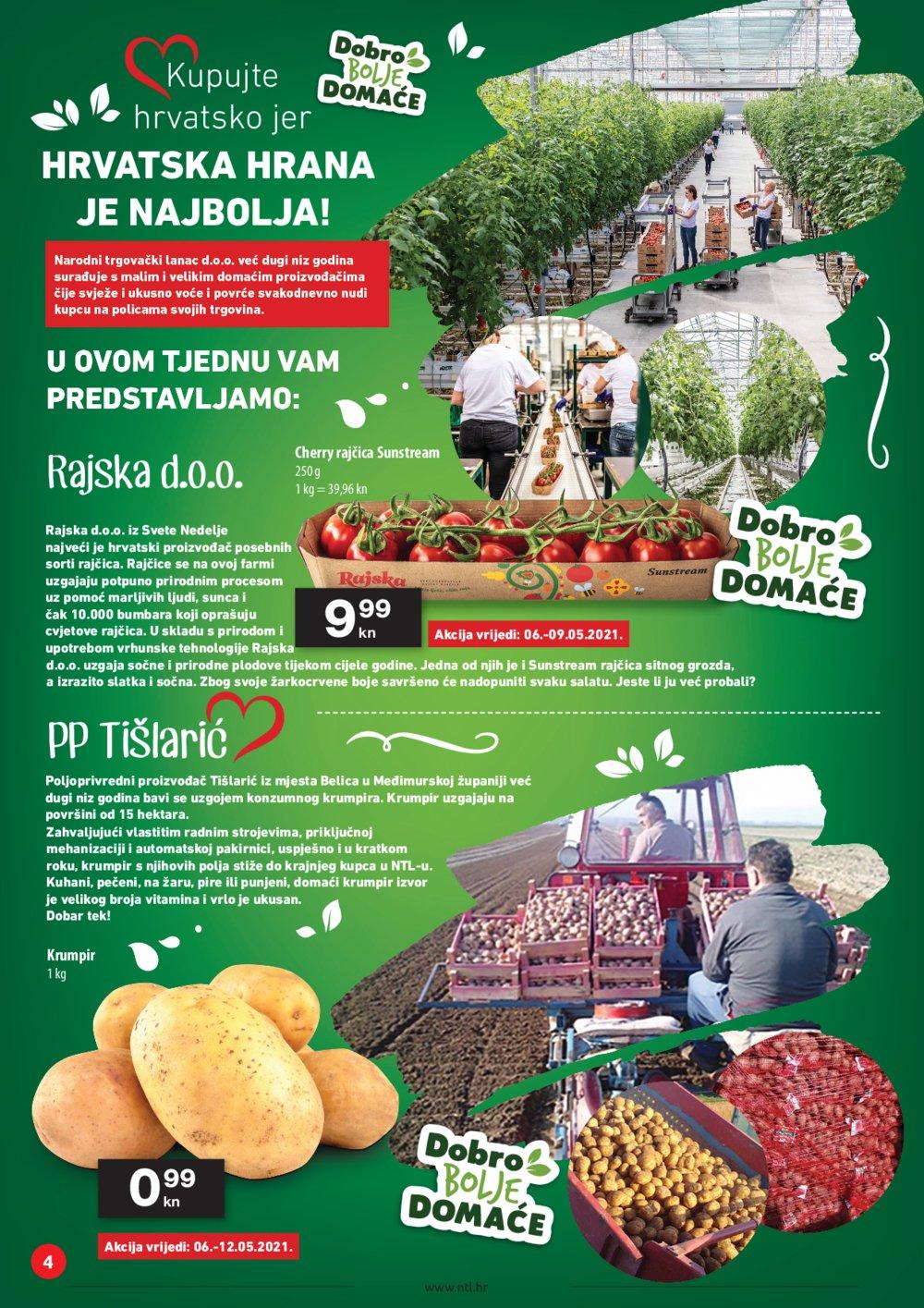 NTL katalog akcija 06.05.-12.05.2021. Soblinec, Duga Resa, Lučko, Krapina, Zagreb, Varaždin
