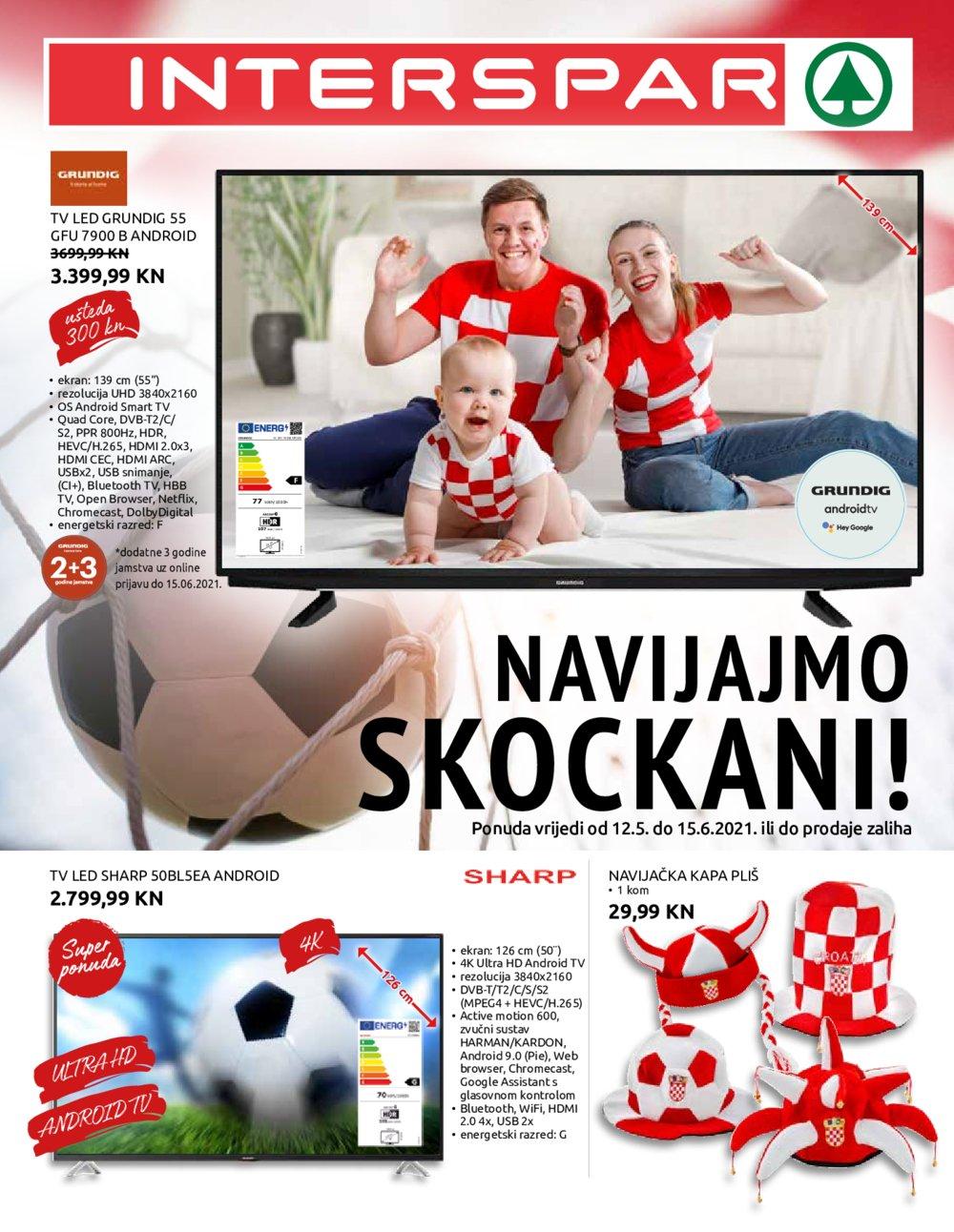 Interspar Katalog Nogomet 12.05.-15.06.2021.