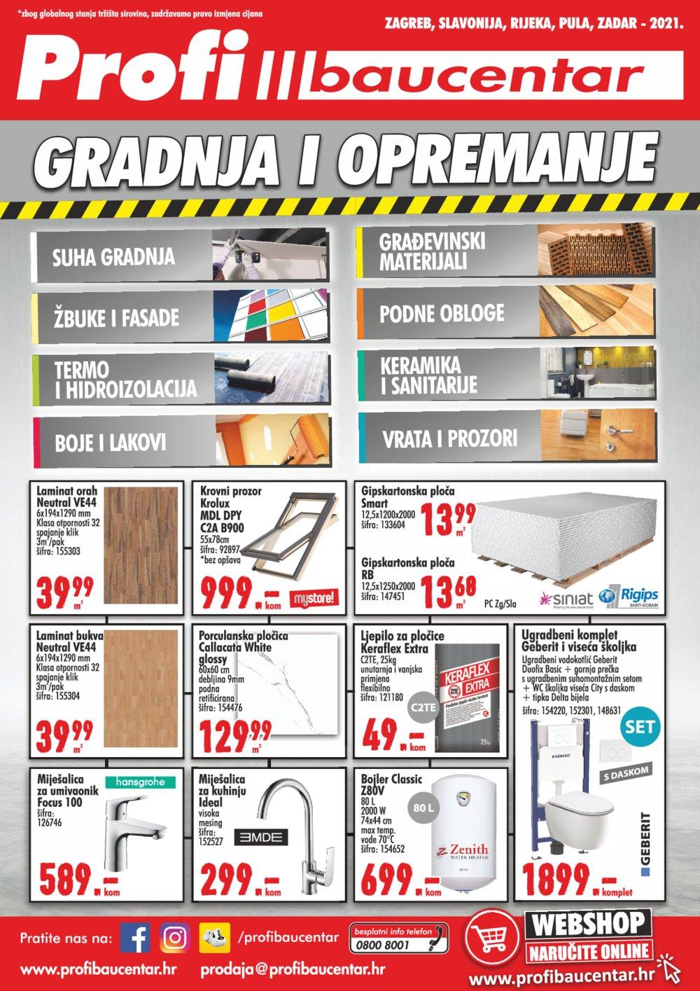 Profi baucentar katalog Proljeće/ljeto 01.06.-31.08.2021.