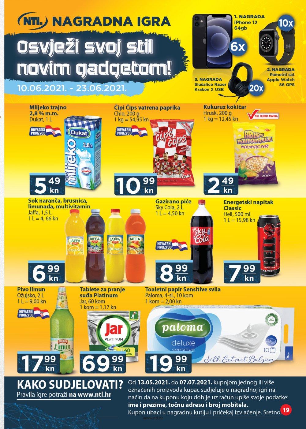 NTL katalog Akcija 10.06.-16.06.2021. Soblinec, Duga Resa, Lučko, Krapina, Zagreb, Varaždin