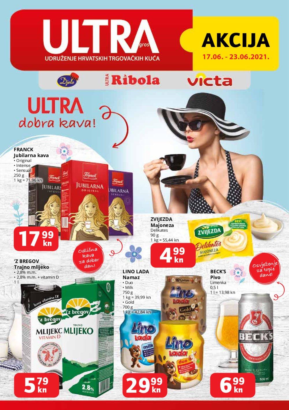 Ribola katalog Ultra Gros Akcija 17.06.-23.06.2021.